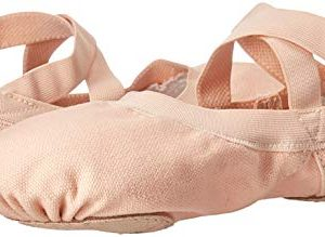 Bloch Girls Pro Elastic, Pink, 1.5 Narrow Little Kid