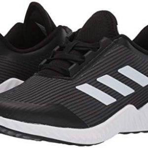 adidas Unisex-Kid's Fortarun Running Shoe, Grey/White/Black