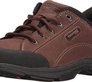 Rockport Men's Chranson Dark Brown/Black 9.5 W (EE)-9.5 W