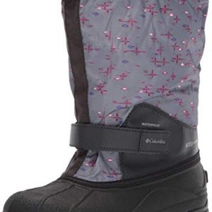 Columbia Unisex-Kid's Youth Powderbug Forty Print Snow Boot