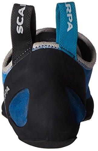 SCARPA Men's Helix Climbing Shoe-M, Hyper Blue SCARPA Men's Helix Climbing Shoe-M, Hyper Blue, 9-9.5.