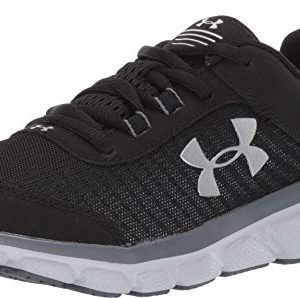 Under Armour Kids' Grade School Assert 8 Sneaker, Black