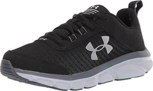 Under Armour Kids' Grade School Assert 8 Sneaker, Black