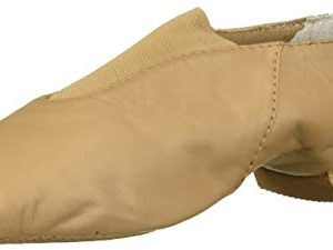 Bloch Girls' Super Jazz Shoe, Tan