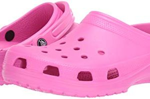 Crocs Classic Clog | Comfortable Slip on Casual Water Shoe, electric Pink