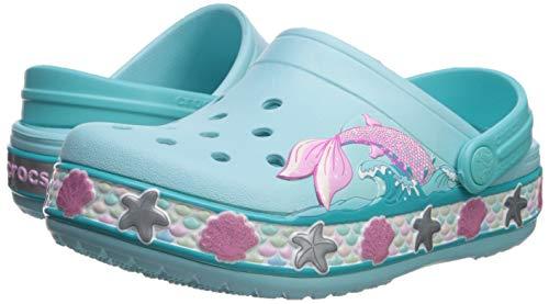 Crocs Kids' Fun Lab Mermaid Band Clog, Ice Blue
