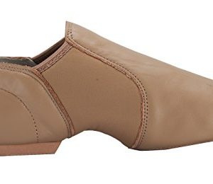 Linodes Leather Jazz Shoe Slip On for Girls and Boys