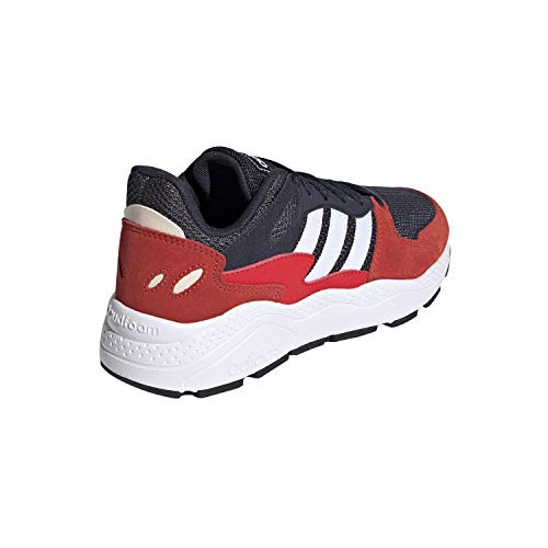 adidas Unisex-Kid's Chaos Sneaker, Trace Blue/White/Active Red