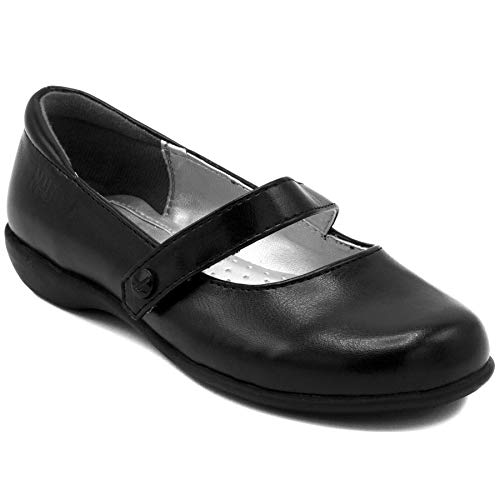 Nautica Girls Flat Mary Jane Oxford School Shoe-Doane