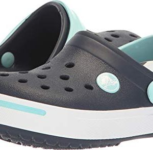Crocs Kids Crocband II (Toddler/Little Kid) Navy/Ice Blue