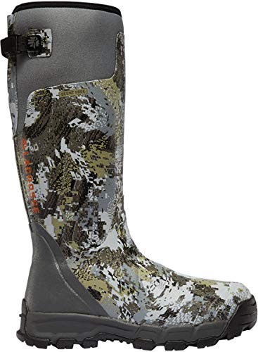 "Lacrosse Men's Alphaburly Pro 18"" 800G Hunting Shoes, Optimal Elevated II, 8 D US"