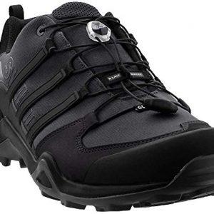 adidas outdoor Men's Terrex Swift R2 GTX Grey Six/Black/Grey Four 9.5 D US