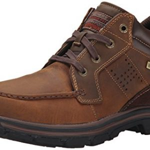 Skechers Men's Segment Melego Chukka Boot, Dark Brown