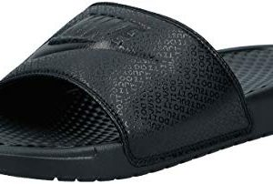 Nike Men's Benassi Just Do It Athletic Sandal, Black