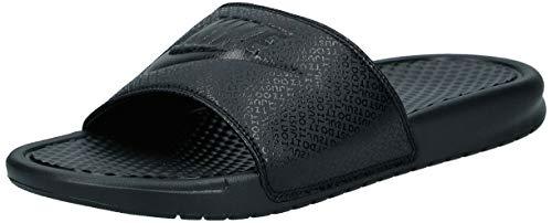 Nike Men's Benassi Just Do It Athletic Sandal, Black