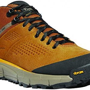 "Danner Men's Trail 2650 Mid 4"" Gore-TEX Hiking Shoe, Brown/Gold"