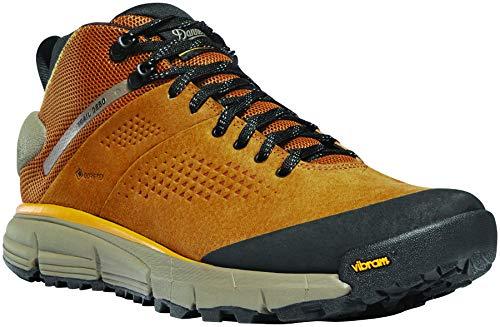 "Danner Men's Trail 2650 Mid 4"" Gore-TEX Hiking Shoe, Brown/Gold"