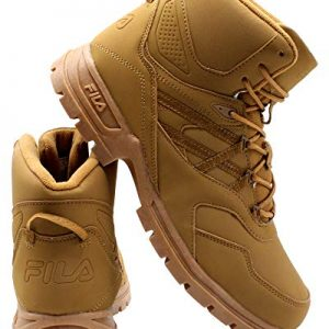 Fila Mens Pro Strap Boot - Wheat Tan,Wheat TAN,10