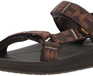 Teva Men's M Original Universal Premier Sport Sandal, Beach Break Brown