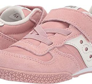 Saucony Kids Girl's Bullet Jr (Toddler/Little Kid) Pink/Cream