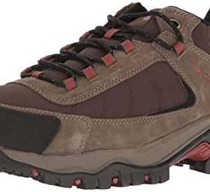 Columbia Men's GRANITE RIDGE WATERPROOF Hiking Shoe, Cordovan, Rusty