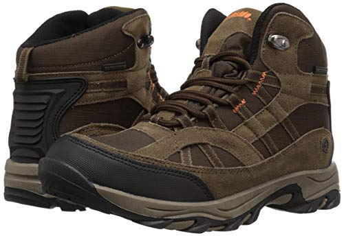 Northside Unisex Rampart MID Waterproof Hiking Boot, Brown