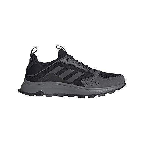 adidas Men's Response Trail Running Shoe, Black/Black/Grey Six