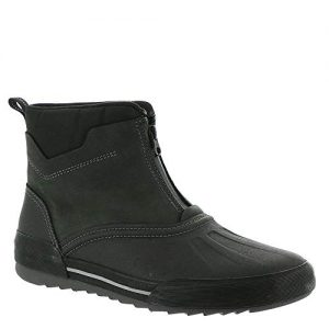 Clarks Men's Bowman Top Boot, Black Leather