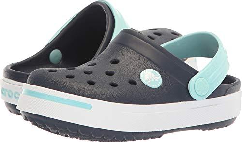 Crocs Kids Crocband II (Toddler/Little Kid) Navy/Ice Blue