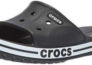 Crocs Men's and Women's Bayaband Slide | Casual Beach Sandal | Shower Shoe