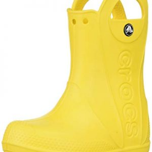 Crocs Kids' Handle It Rain Boots, Easy On for Toddlers, Boys, Girls