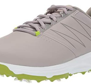 Skechers Men's Torque Waterproof Golf Shoe, Gray/Lime