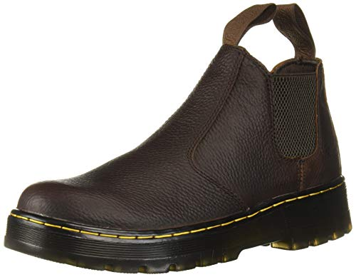Dr. Martens Men's Hardie Chelsea Boot, Tan, 10 Regular UK (11 US)