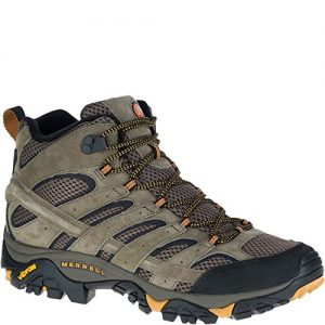 Merrell Men's Moab 2 Vent Mid Hiking Boot, Walnut