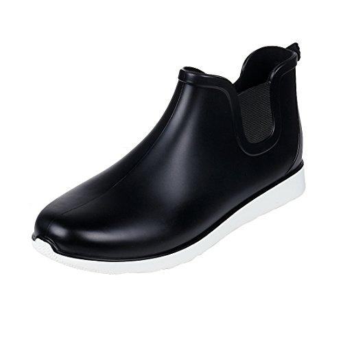 Comwarm Men's Ankle Rain Boots Casual Anti-Slip Outdoor Sport Waterproof