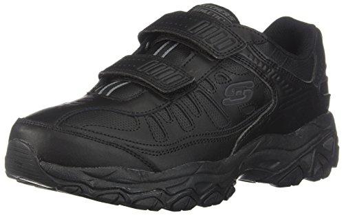 Skechers Men's After Burn Memory Fit - Final Cut Sneaker, Black, 12 4E US