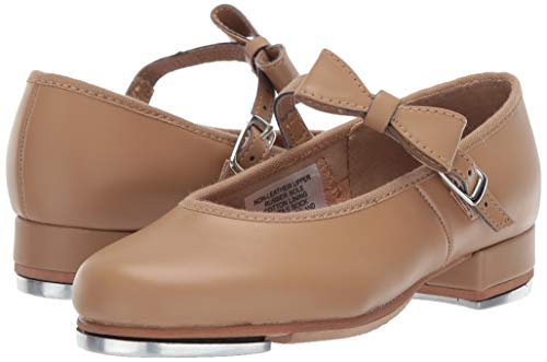 Bloch Girls Merry Jane Tap Shoe Dance, Brown Tan