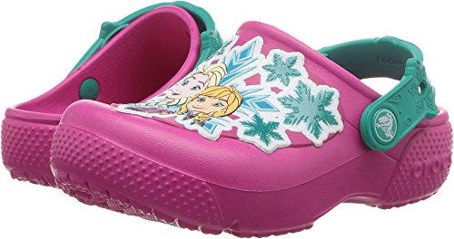 Crocs Kids Girl's Fun Lab Frozen Clog (Toddler/Little Kid) Candy Pink