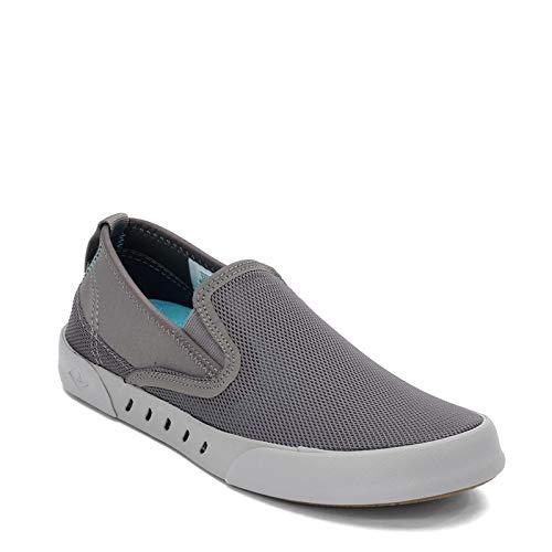 Sperry Mens Maritime Slip On Sneaker, Grey