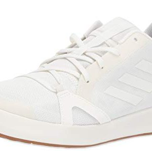 adidas Men's Terrex CC Boat Water Shoe, Non-Dyed/Chalk White/Grey